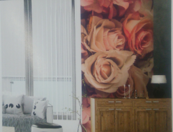 施工例壁面にグラフィックフィルムを施工オリジナルデザインで制作可能。空間の演出にぴったり。